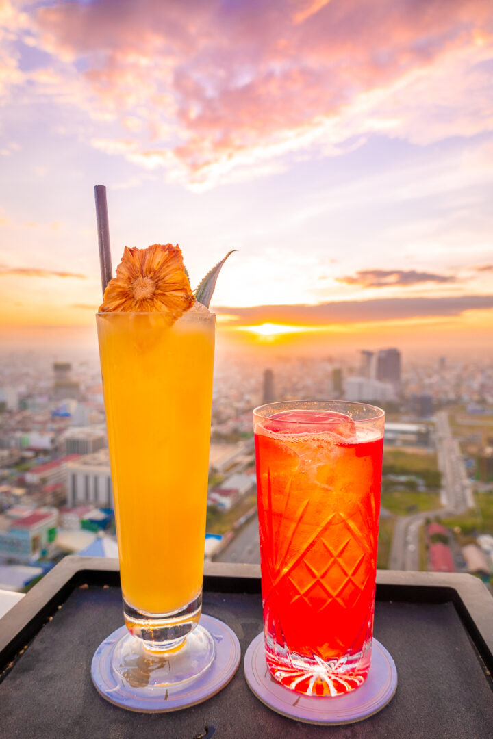 Visit the Sora Skybar during your trip to Phnom Penh
