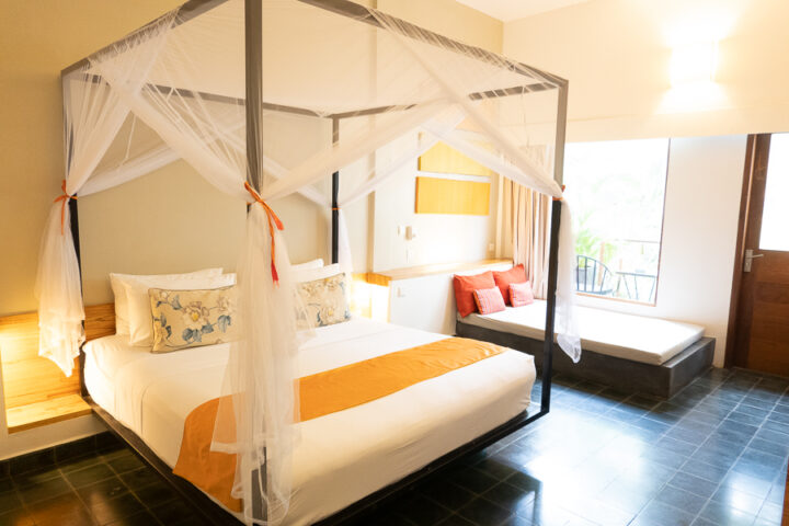 stay at The Plantation Urban Resort and Spa during your tip to Phnom Penh