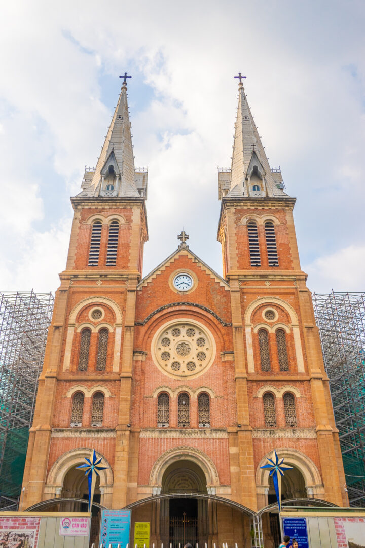 The Notre Dame Cathedral of Vietnam | Best Things to Do while traveling to Ho Chi MInh