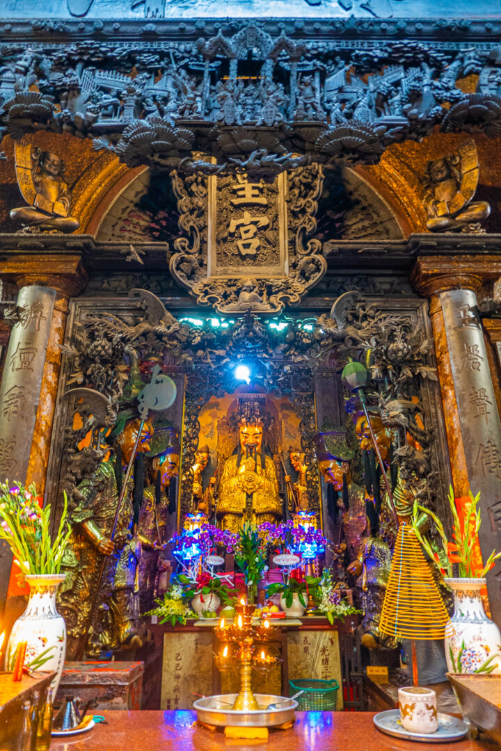 pagoda of saigon | visiting ho chi minh traveling to vietnam