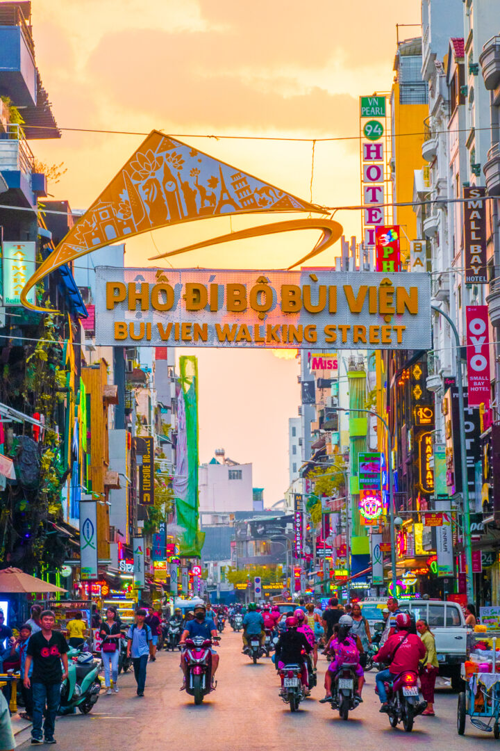 Backpacker Street (Bui Vien Walking Street) Best Things to Do while visiting Saigon
