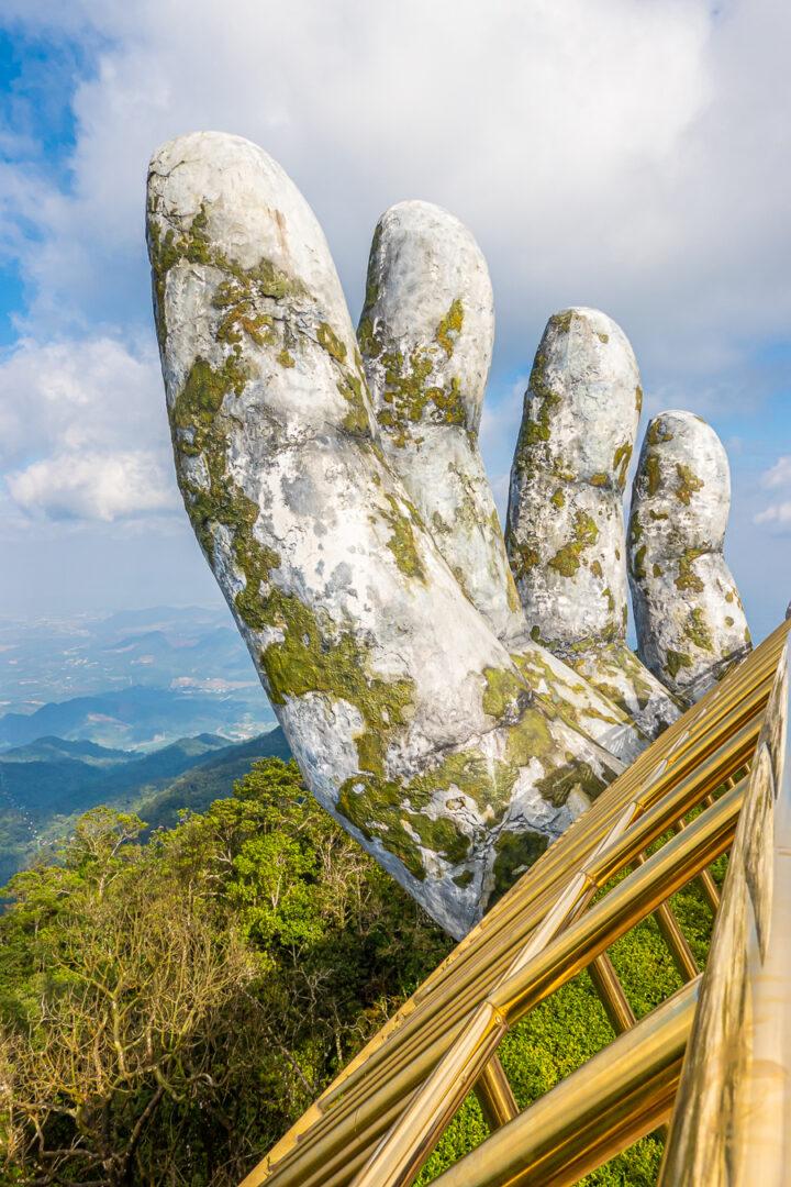 hands of the golden bridge at ba na hills