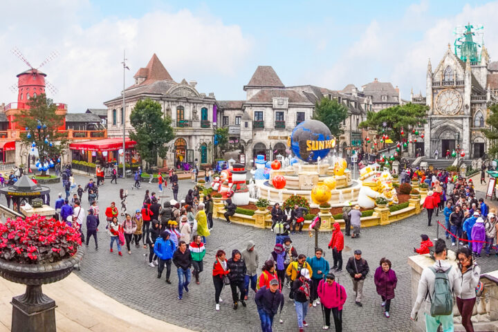 french village at ba na hills