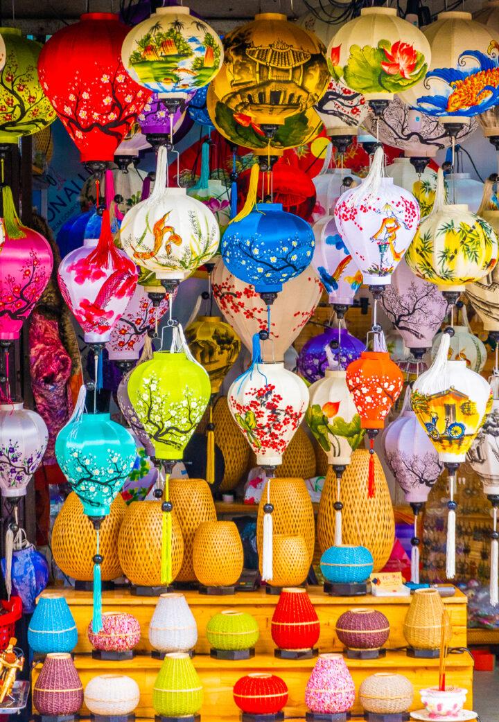 paper lanterns in Hoi An, Vietnam