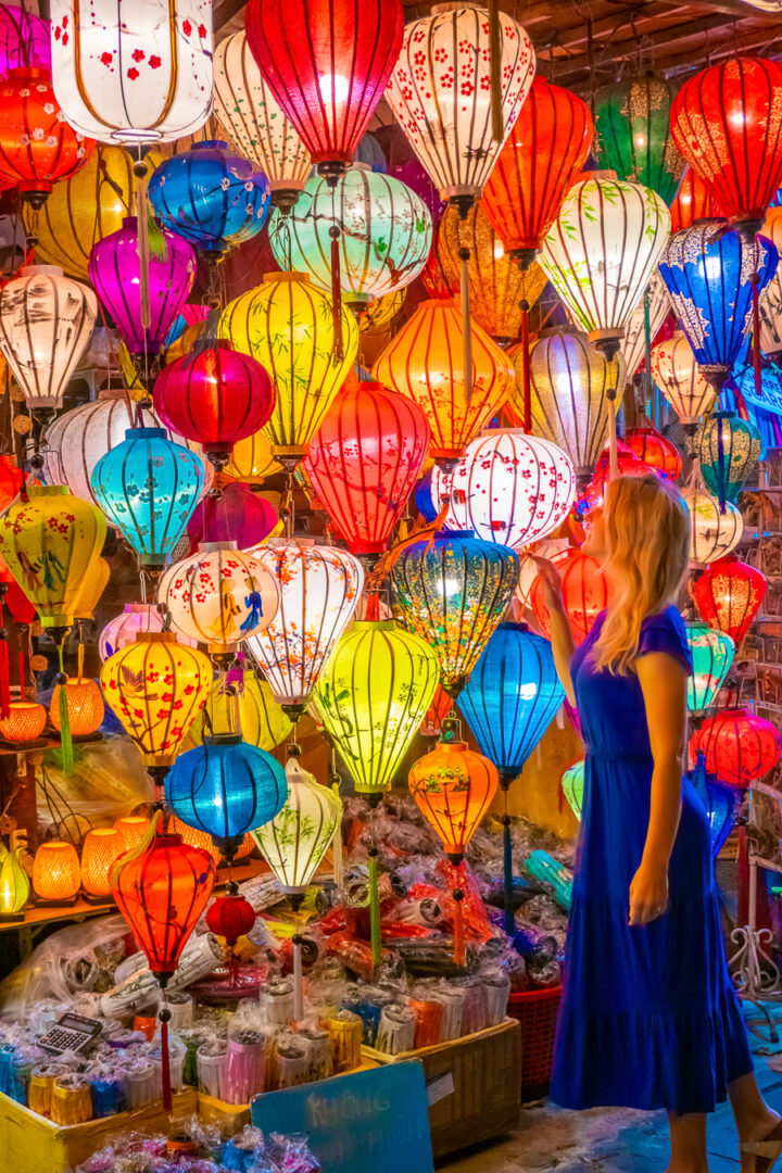 paper lanterns | best things to do in hoi an