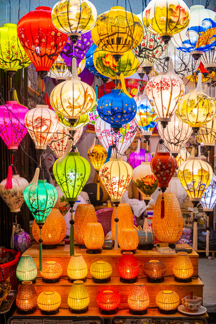 paper lanterns in old town hoi an | visit hoi an