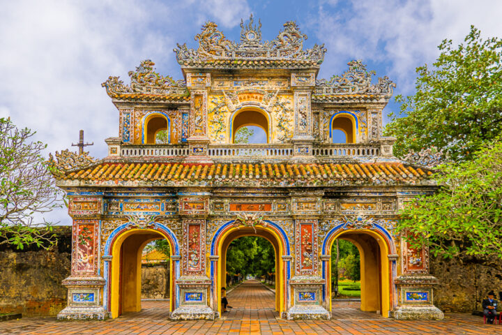 beautiful temples of central vietnam