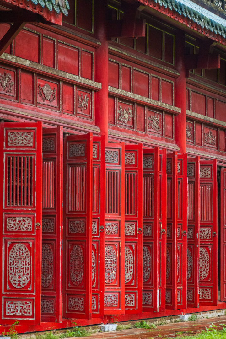 red gates of the imperial city