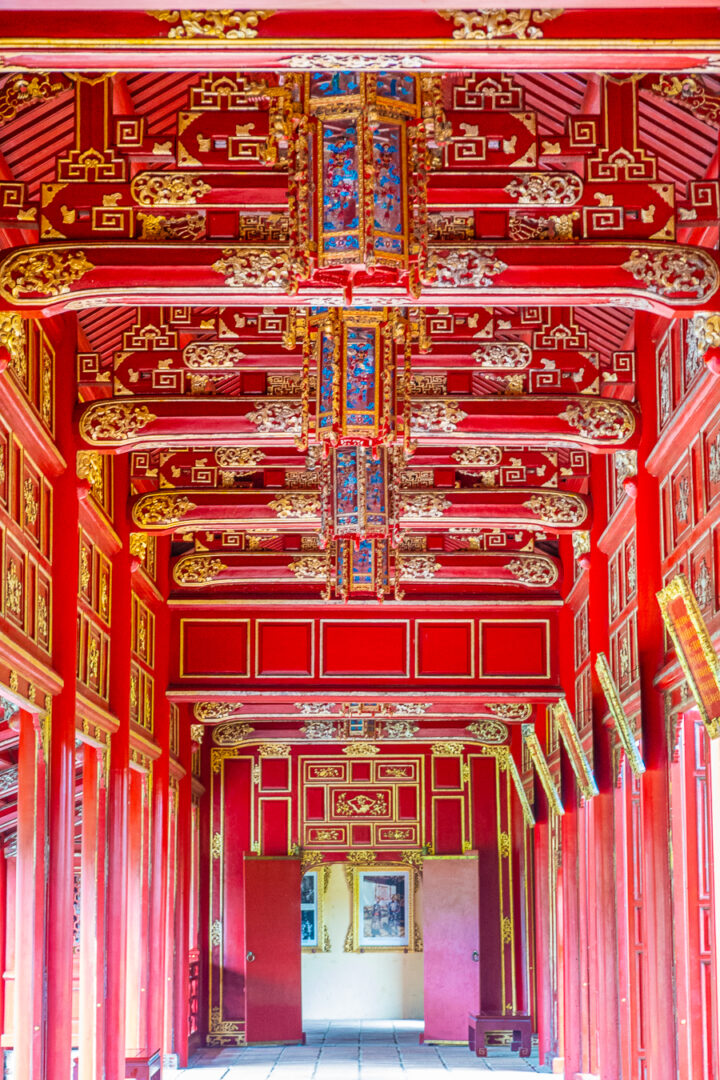 forbidden city within the imperial city | things to do in hue