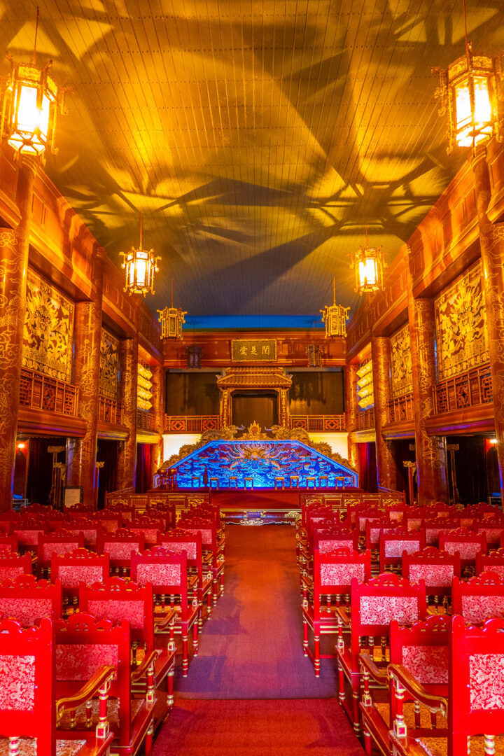 forbidden city theatre within the imperial city | a must-see during your trip to hue