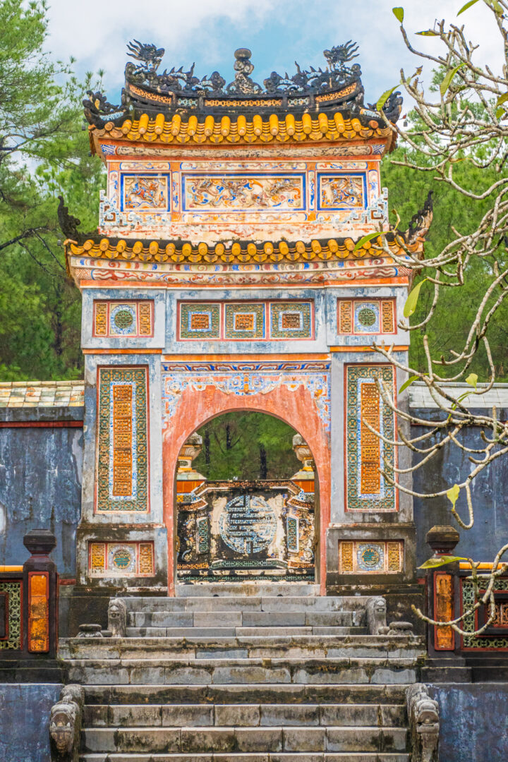 things to do in hue | visit the tomb of emperor tu duc imperial city
