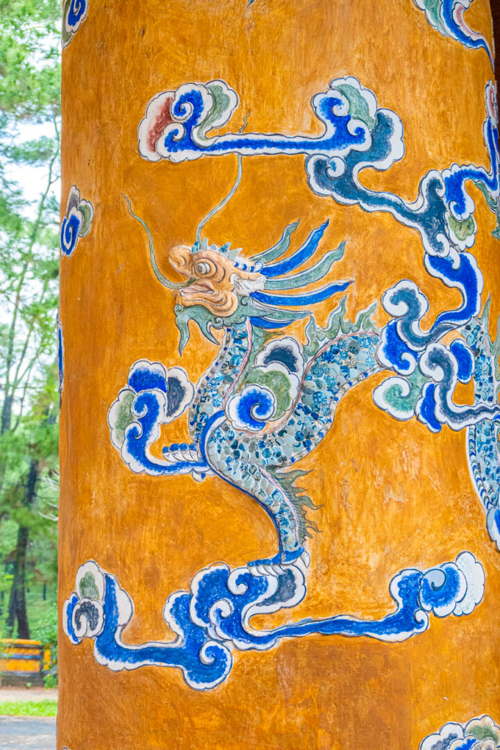 dragon artwork in hue