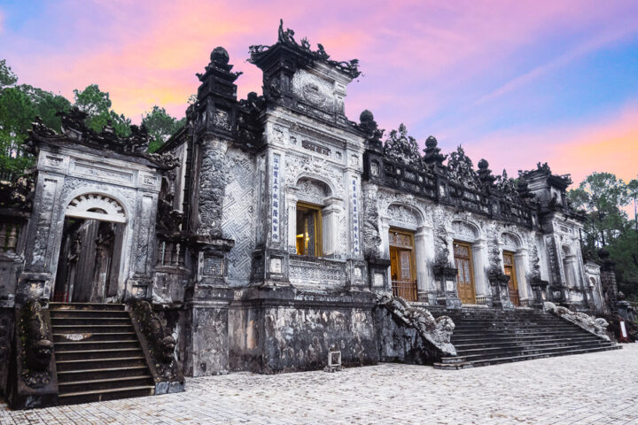 things to do in hue | visit the tomb of emperor khai dinh imperial city