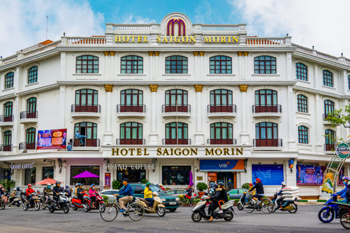 stay in the hotel saigon morin during your trip to hue