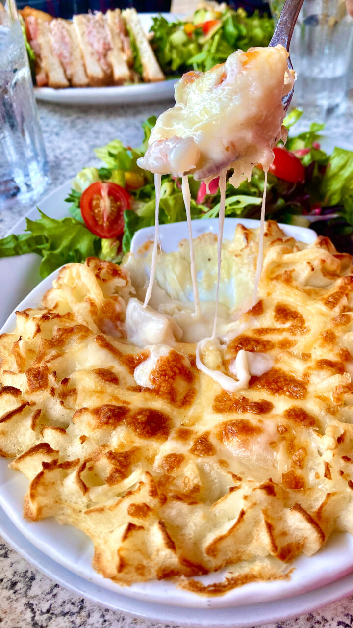 Seafood Coquille from Brise Bise in Gaspesie
