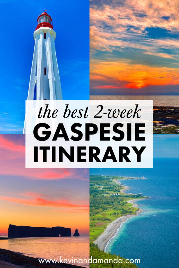 Best Gaspesie Road Trip Itinerary