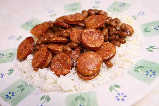 Healthy Red Beans & Rice Recipe