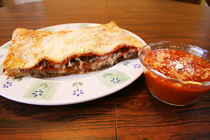 easy calzones recipe scrapbook blog