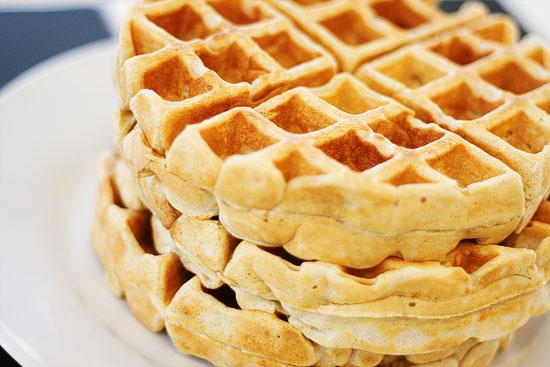 Cinnamon Nutmeg Waffles