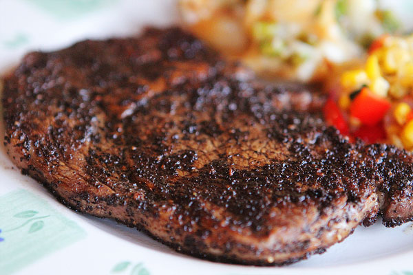 Coffee Crusted Steak Recipe