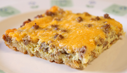 easy breakfast casserole recipe cooking blog