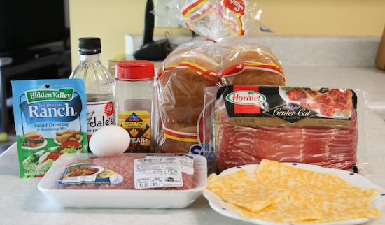real juicy bacon ranch cheeseburgers