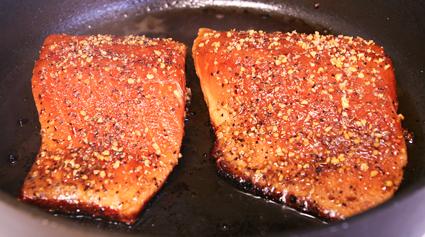 pan seared salmon recipe blog