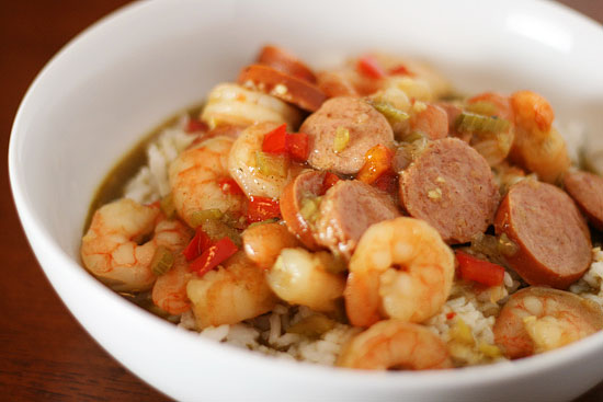 Shrimp & Sausage Gumbo Recipe