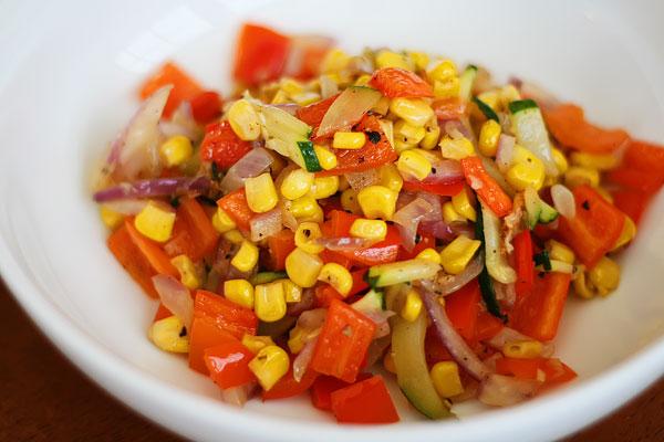 Sweet Summer Roasted Vegetables