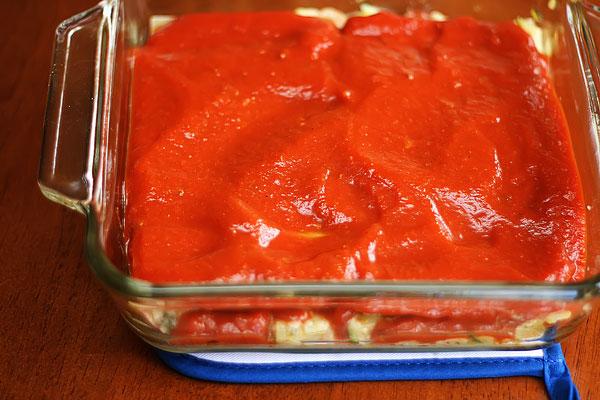Zucchini & Bacon Lasagna